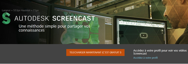 Comment faire un screencast Autodesk